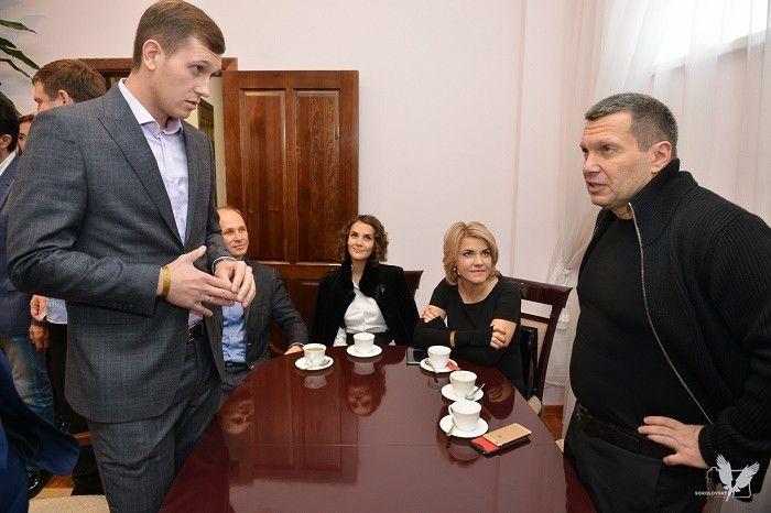 Сергей Мелехов и Владимир Соловьев
