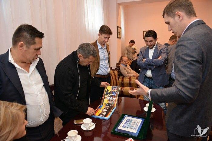 Сергей Мелехов, Владимир Соловьев, Марат Саид Галиев