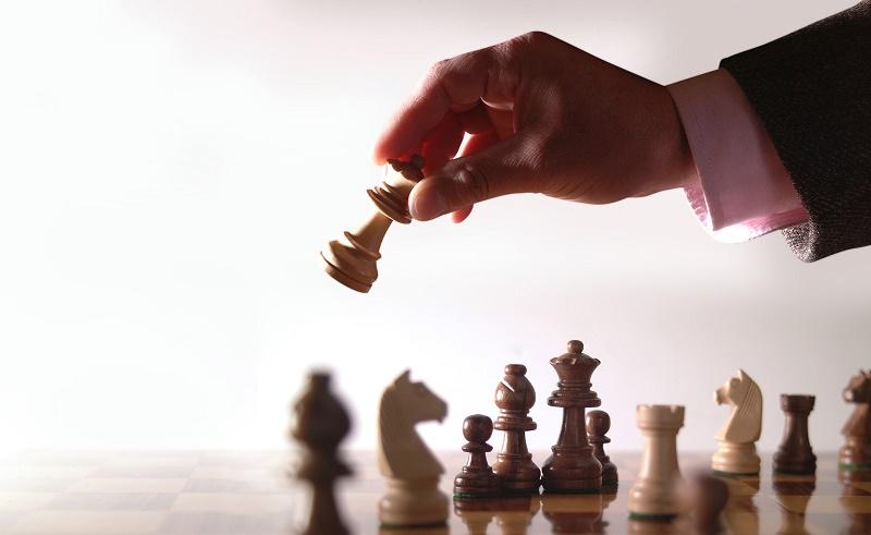 шахматная доска - аллигория маркетиногово хода