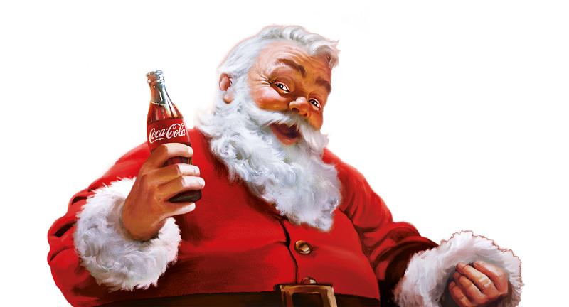 Санта клаус кока кола