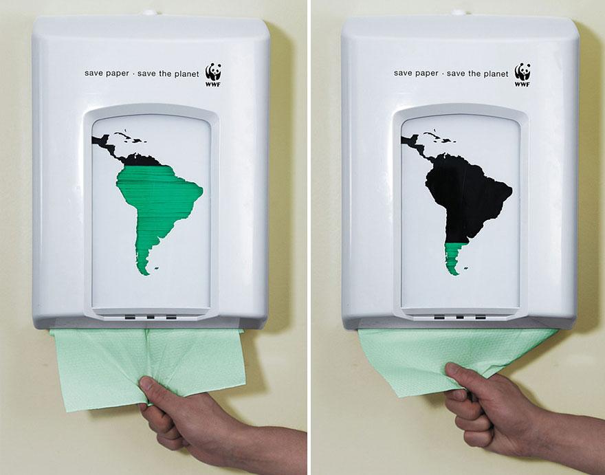 Расходуй бумагу экономно — спаси планету