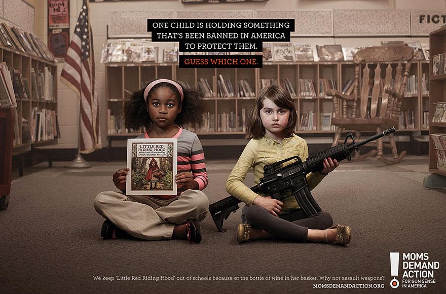 Один из детей держит в руках то, что запрещено в нашей стране. Угадай, о каком ребёнке речь