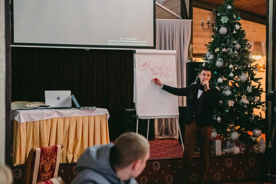 зимний слёт филиалов рекламной компании «Русмедиа» 2018