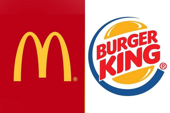 макдональдс бургер кинг фото