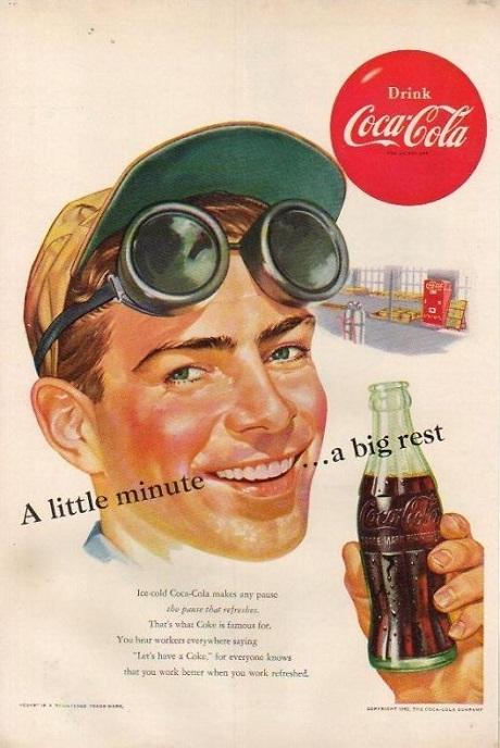 реклама кока-колы фото
