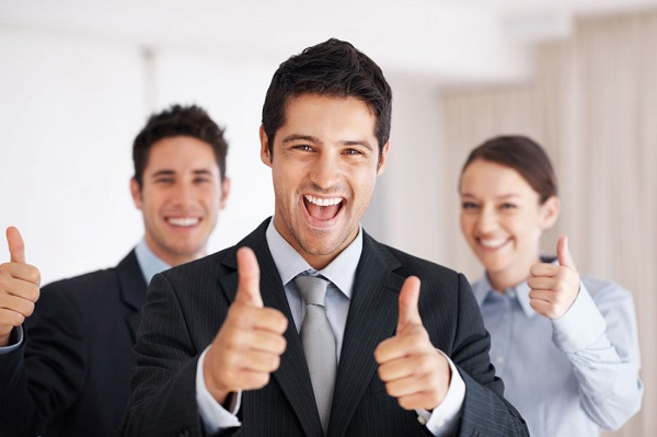 счастливый клиент фото