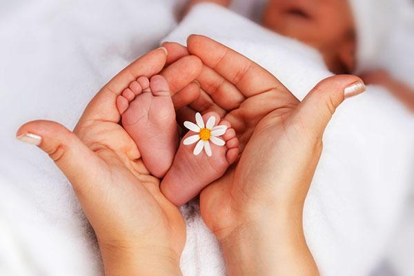 рождение ребенка фото