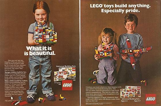 реклама лего